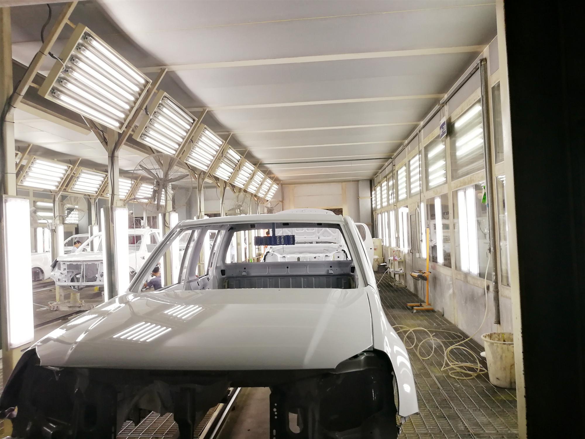 山东汽车涂装生产线
