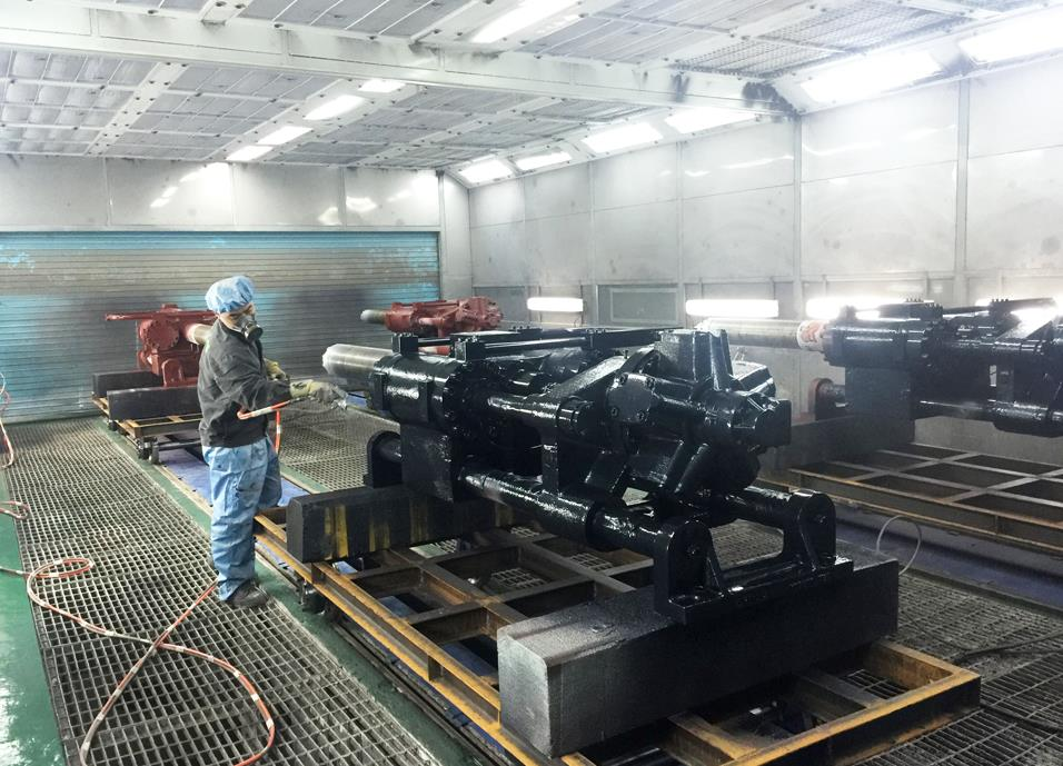 山东机械喷漆设备